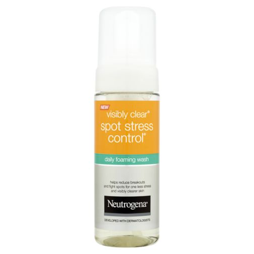 Neutrogena Visibly Clear Spot Stress Control Daily Foaming Wash