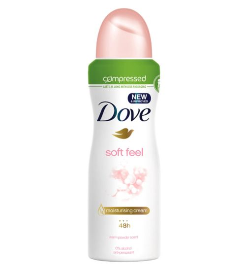 Dove Soft Feel Compressed Anti-perspirant Deodorant 125ml