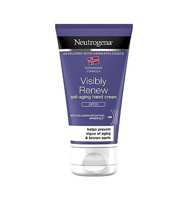 Neutrogena Norwegian Formula Visibly Renew Elasti-Boost Hand Cream 75ml