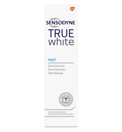 Sensodyne True White toothpaste - mint 75ml