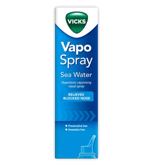 Vicks Vapo Spray Sea Water - 100ml