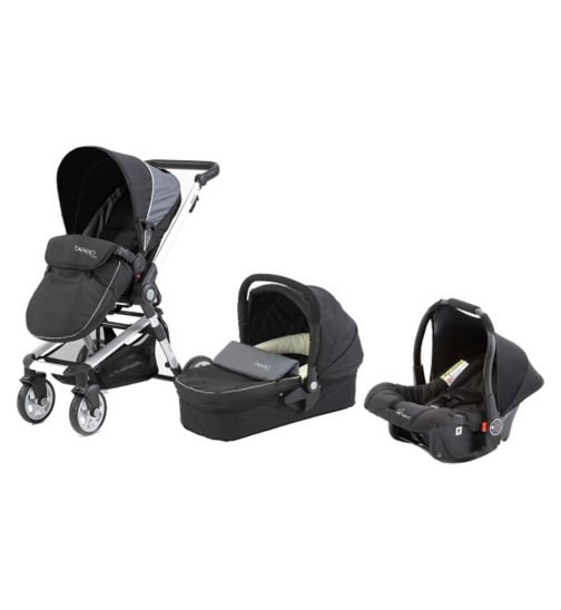 Beep Twist Travel System - Black