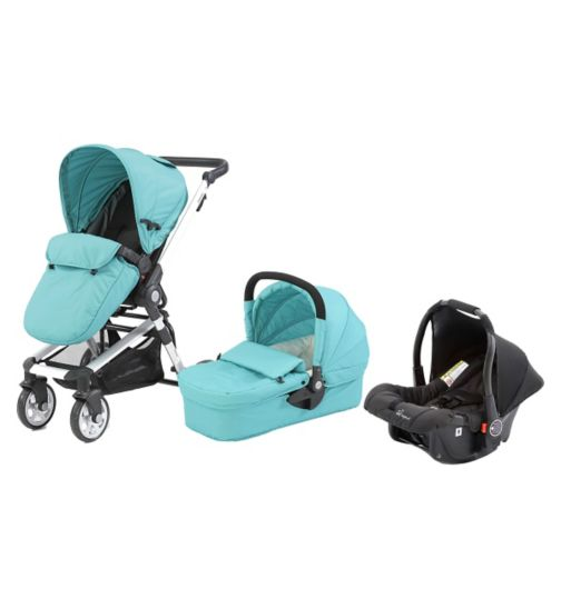 Beep Twist  Travel System - Aqua