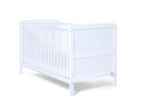 Baby Elegance Travis Cot Bed White