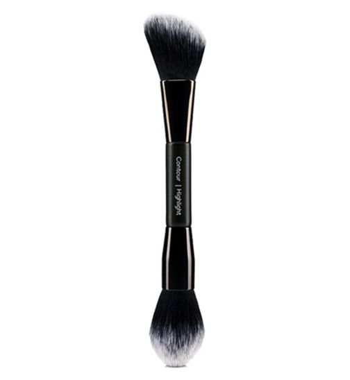 No7 Contour & Highlighter Brush