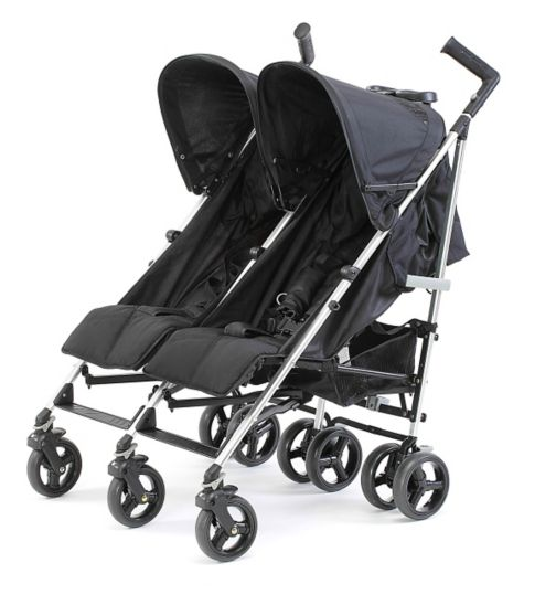Baby Elegance Flow Twin Pushchair