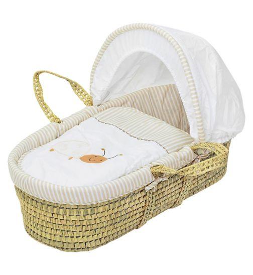 Baby Elegance Gabby & Bee Moses Basket