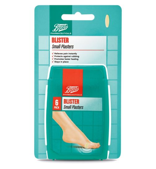 Boots Blister Small Plasters