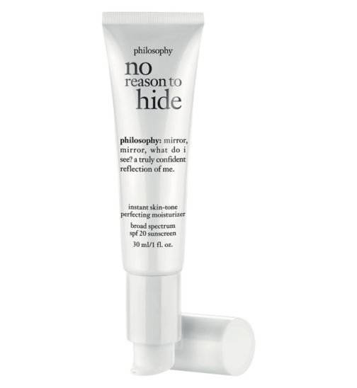 philosophy no reason to hide instant skin-tone perfection moisturiser Medium spf 20