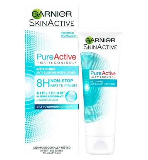 Pure Active Matte Control Anti Blemish Face Moisturiser 50ml