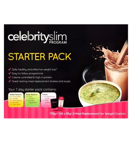 Celebrity Slim Starter  Pack