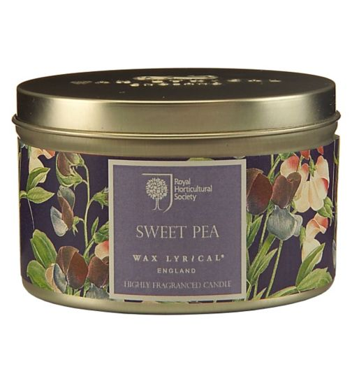 Wax Lyrical RHS Sweet Pea Scented Wax Candle