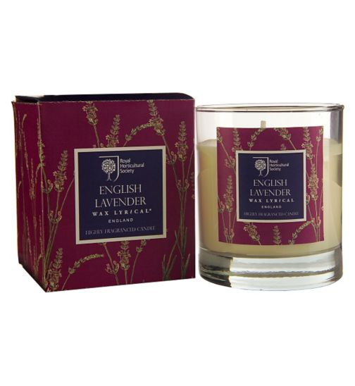 Wax Lyrical RHS Lavender Boxed Candle