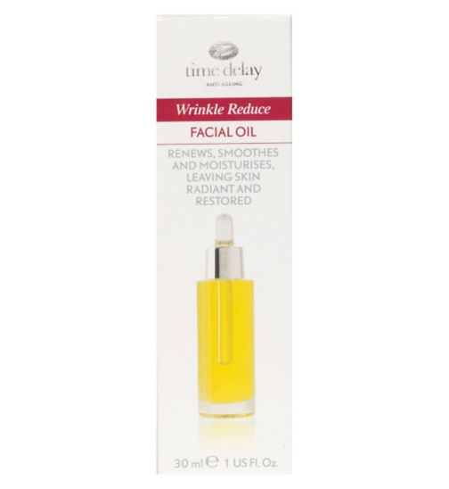 Time Delay Wrinkle Reduce night oil 30ml