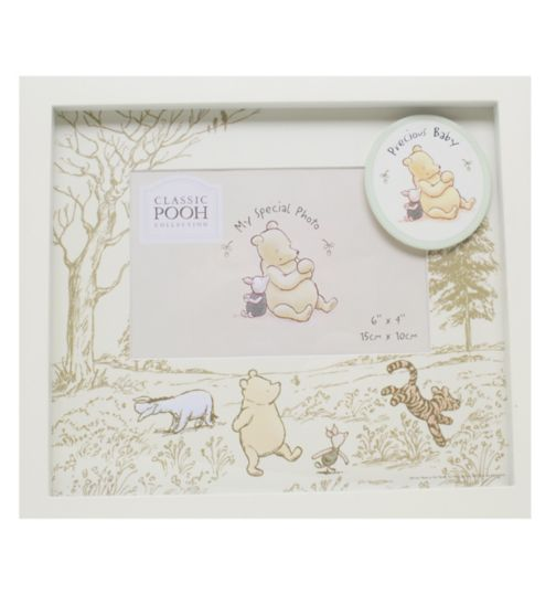 Winnie the Pooh Vintage My Special Photo - Precious Baby Photo Frame- 6x4