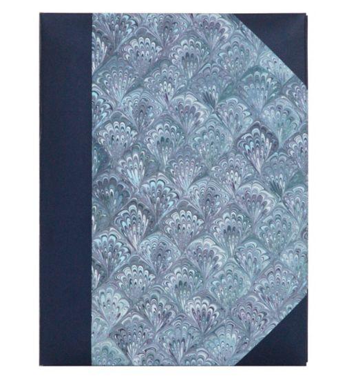 Blue Marble album 140 photos memo with slip in tab 15x10cm 6x4 inches