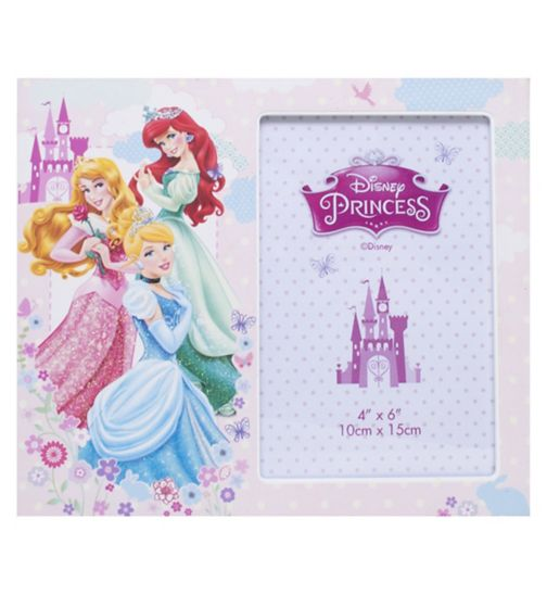 Disney Princess Photo Frame - 4 x 6
