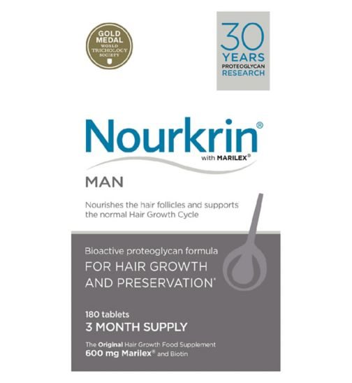 Nourkrin Man for hair preservation 180s