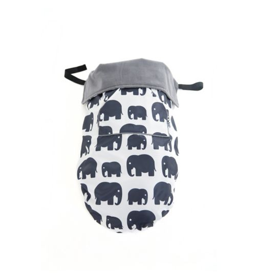 BundleBean Waterproof Footmuff - Elephant