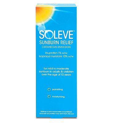 Soleve Sunburn Relief Cutaneous Emulsion 100ml