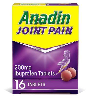 Anadin Joint Pain 200mg Ibuprofen Tablets - 16