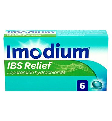 Imodium IBS Relief 2mg Soft Capsules - 6 Capsules