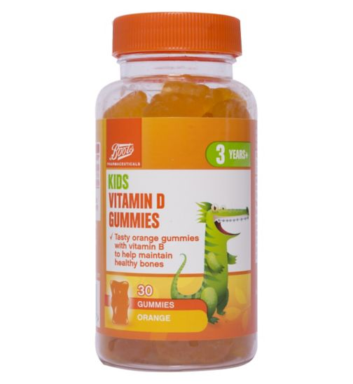 Boots Kids Vitamin D 30 Orange Gummies