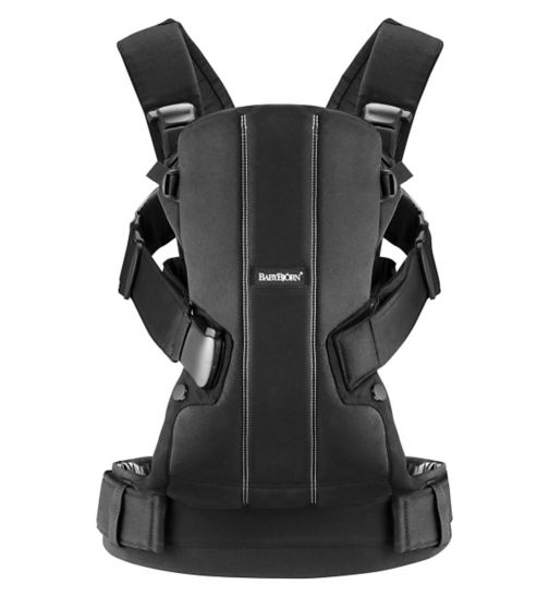BABYBJÖRN Baby Carrier We - Black Cotton