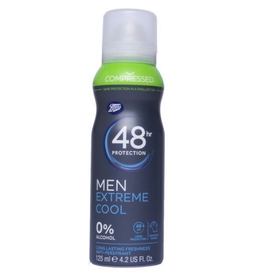 Boots Compressed 48hr Men Extreme Cool Anti-Perspirant 125ml