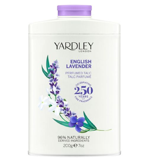 Yardley English Lavender Talc 200g