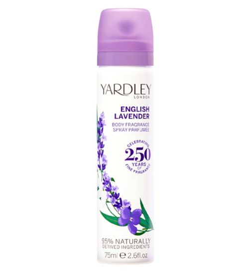 Yardley English Lavender Body Spray 75ml