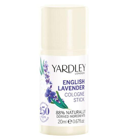 Yardley English Lavender Cologne Stick 20ml