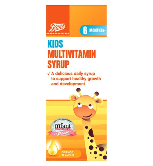 Boots Multivitamin Syrup 6months+ 200ml