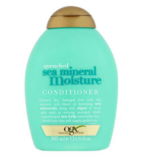 Ogx Quenched Sea Mineral Moisture Conditioner 385ml