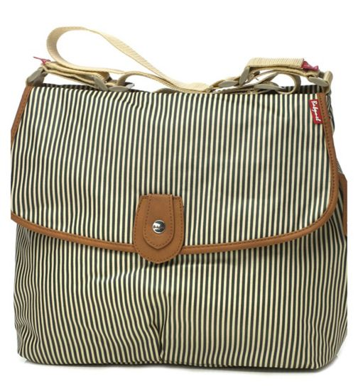 Babymel Satchel Change Bag - Navy Stripe