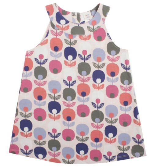 Girls Abstract Floral Tunic - Mini Club