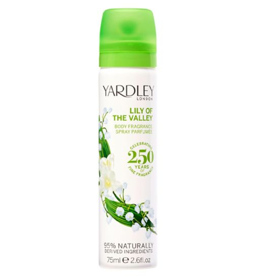 Yardley Lily of the Valley Body Spray 75ml