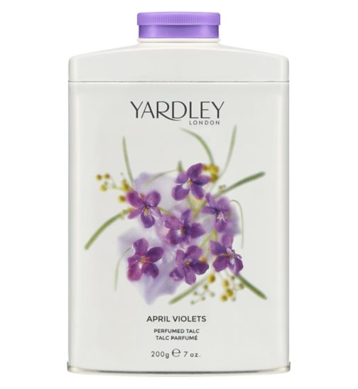 Yardley London April Violets Talc 200g