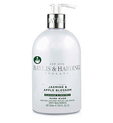 Baylis & Harding Jasmine & Apple Blossom 500ml Anitbacterial Hand Wash