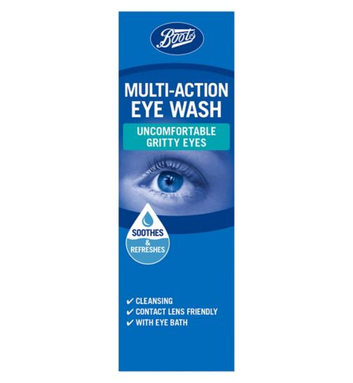 Boots Eye Wash with Eye Bath - 100ml