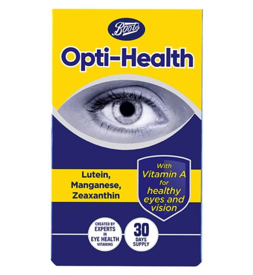 Boots Opti- Health - 30 days supply
