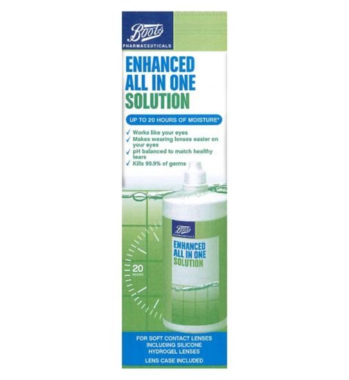 Boots Enhanced All In One Solution 360ml
