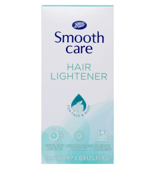Boots Smooth Care Hair Lightener 50ml x 2