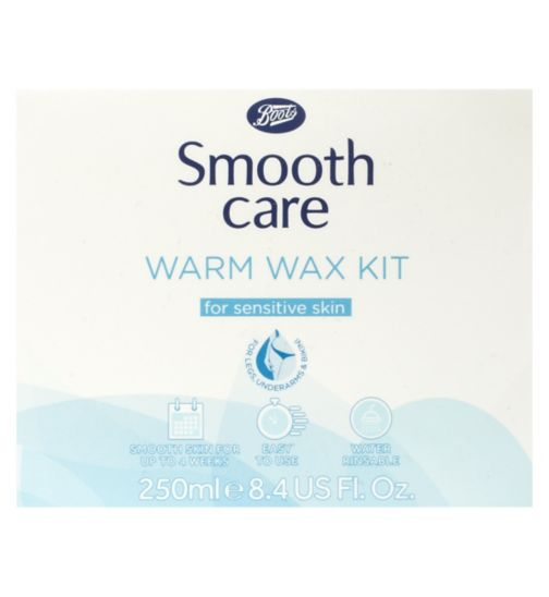 Boots Smooth Care Warm Wax Kit for Sensitive Skin 250ml
