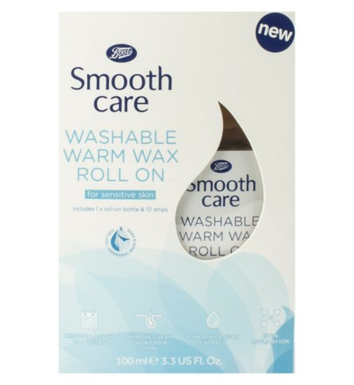 Boots Smooth Care Washable Warm Wax Roll On