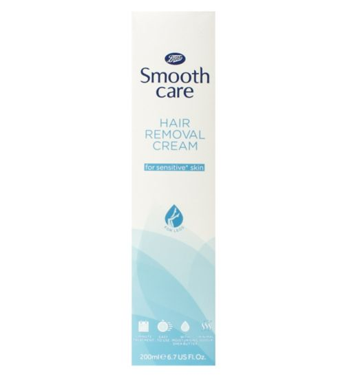 Boots Smooth Care Hair Removal Cream for Sensitive Skin 200ml