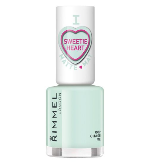 Rimmel London Sweetie Heart Velvet Matte Pastels