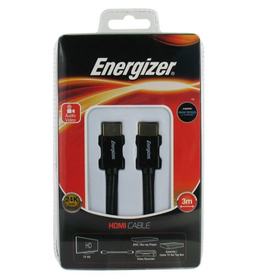 Energizer HDMI High Speed Cable