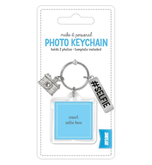Shot 2 Go Jangle Photo Keychain- Selfie