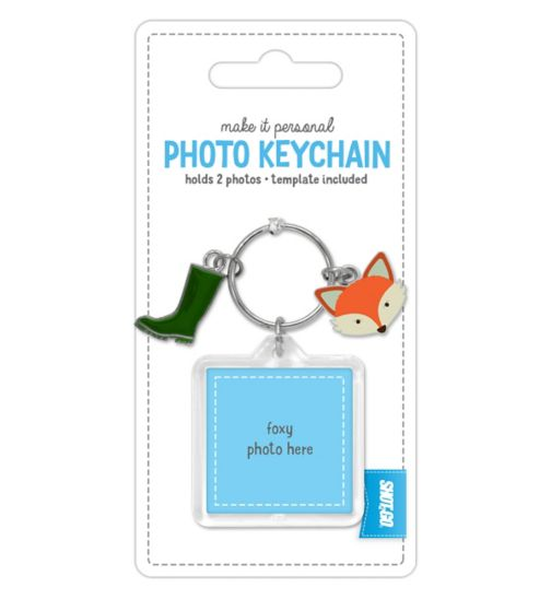 Shot 2 Go Jangle Photo Keychain- Fox